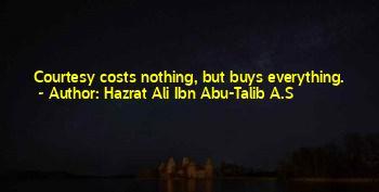 Hazrat Ali R A Best Quotes