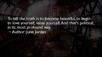 June Jordan Love Quotes