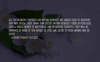 Listen Your Soul Quotes