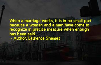 Man And Woman Marriage Quotes
