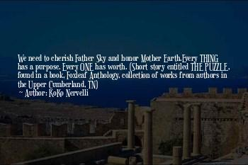 Mother Earth And Father Sky Quotes