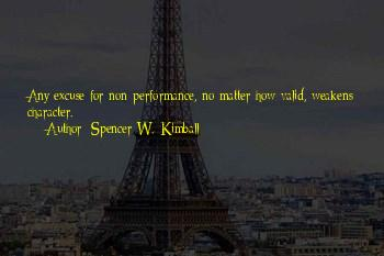 Non Performance Quotes