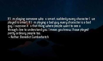 Quotes About People's Bad Character