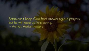 Prayer Answering God Quotes