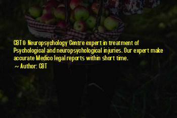 Short Neuropsychology Quotes