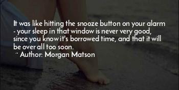 Snooze Alarm Quotes
