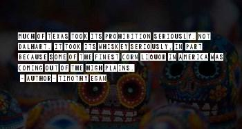 Quotes About Texas Plains