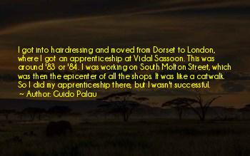 Vidal Sassoon Hairdressing Quotes
